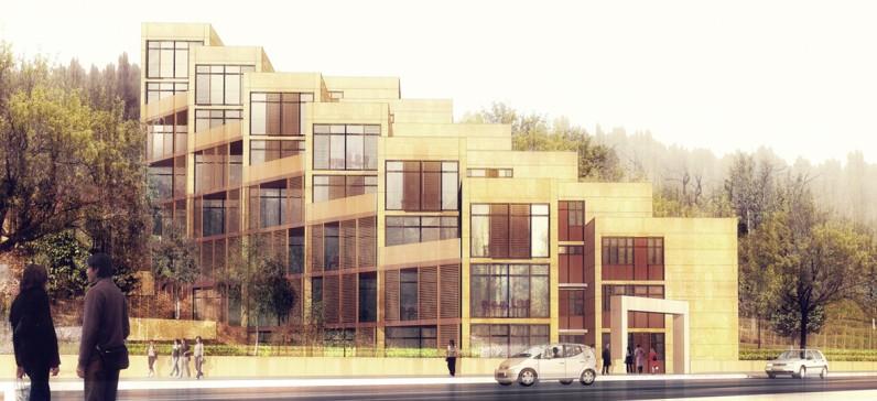 elisabeth polzella architecte dplg lyon logements en accession. Black Bedroom Furniture Sets. Home Design Ideas