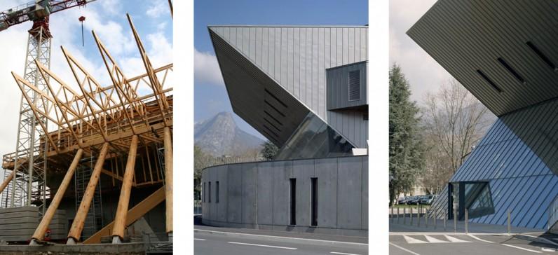 elisabeth polzella architecte dplg lyon centre culturel. Black Bedroom Furniture Sets. Home Design Ideas