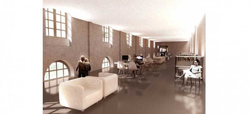 elisabeth polzella architecte dplg lyon m diath que cole de musique. Black Bedroom Furniture Sets. Home Design Ideas