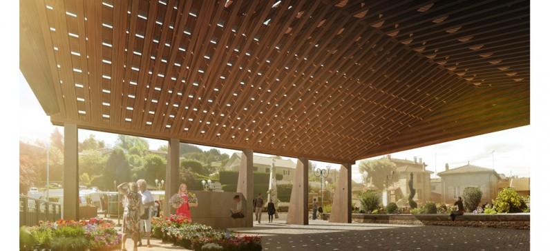 elisabeth polzella architecte dplg lyon halles. Black Bedroom Furniture Sets. Home Design Ideas
